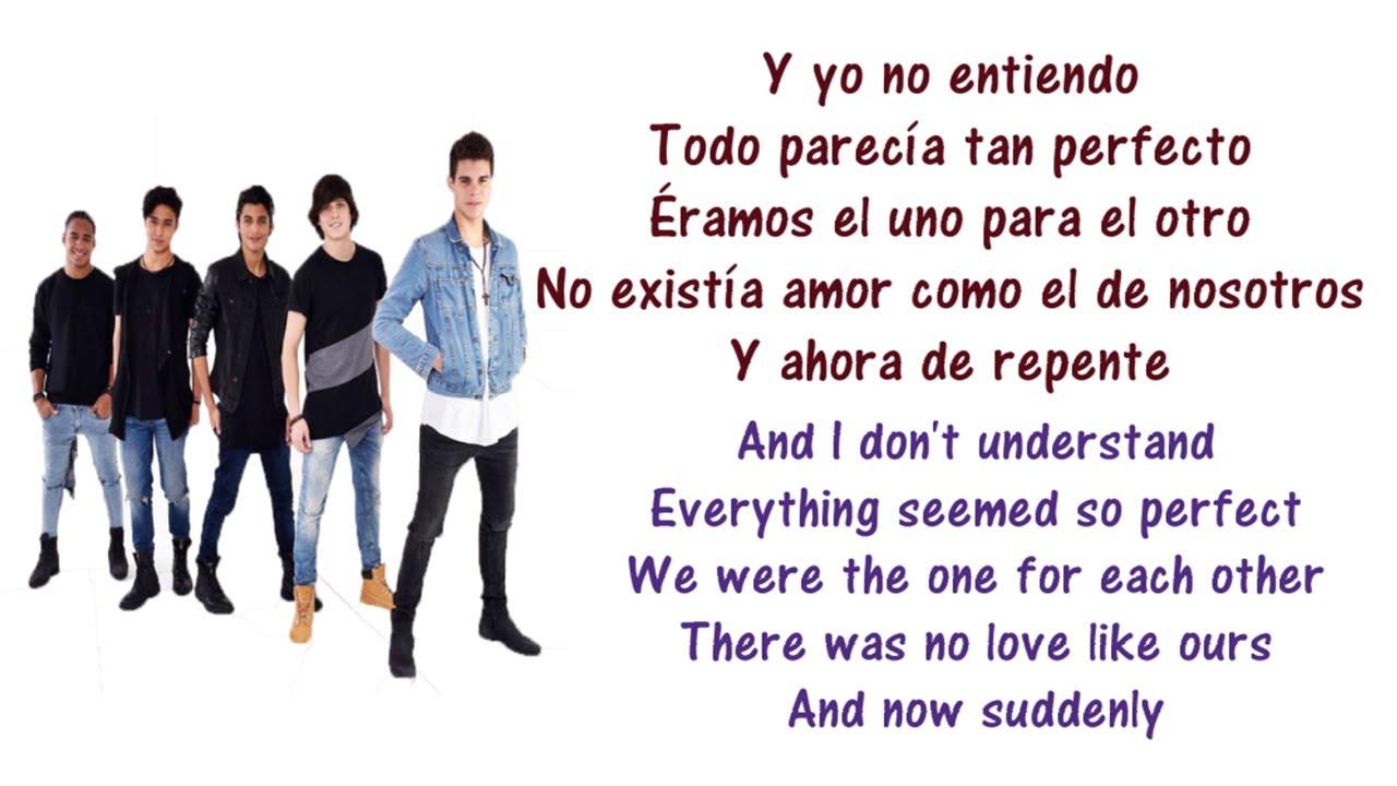 Cnco No Entiendo Lyrics English And Spanish Translations