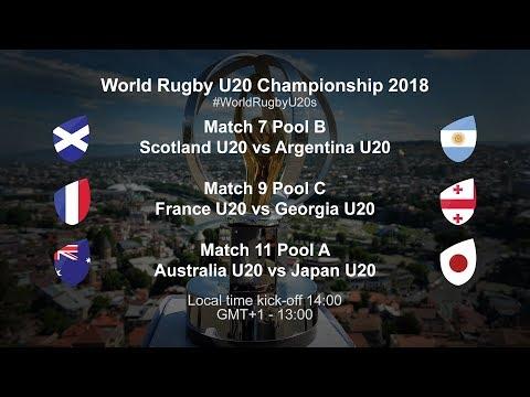 Live: World Rugby U20 Championship - Scotland U20 VS Argentina U20