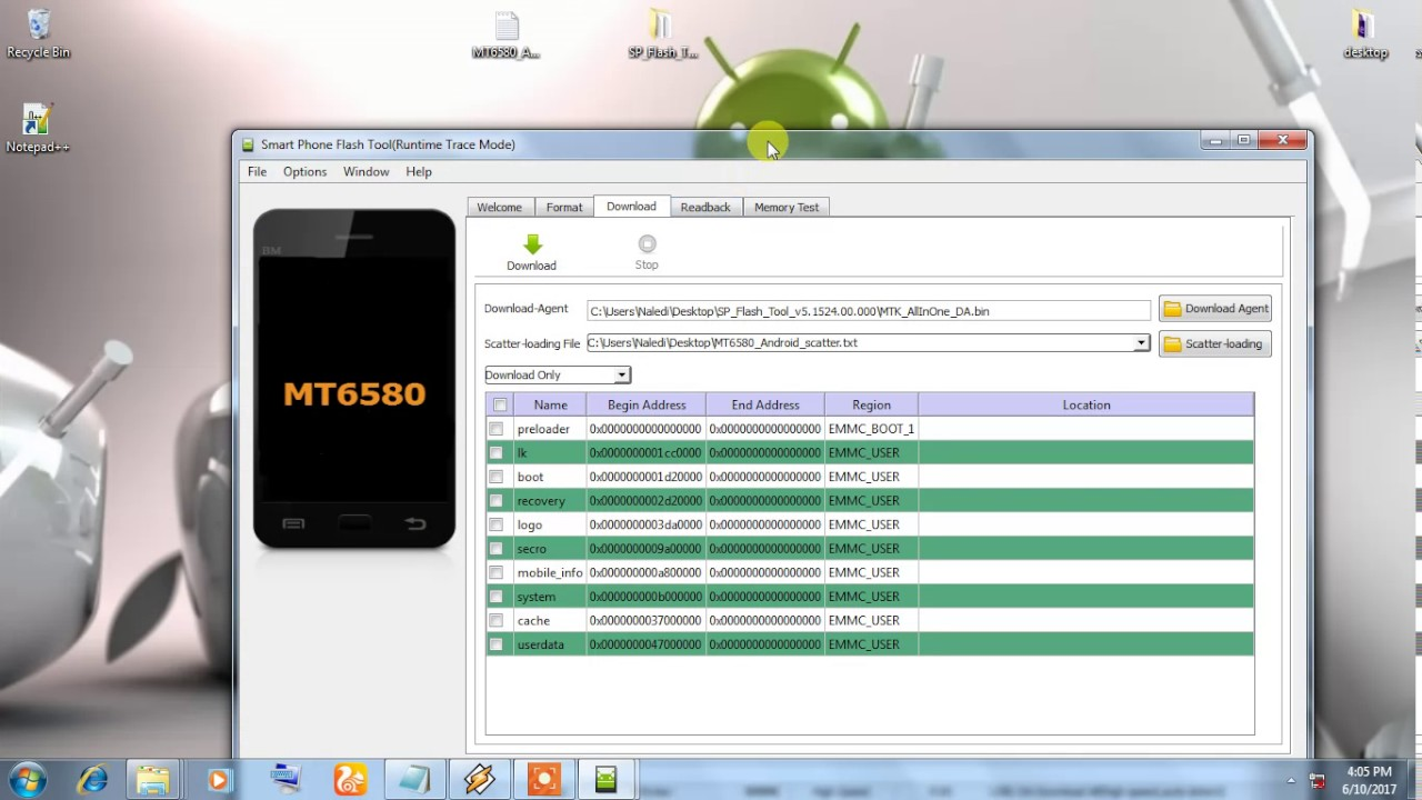 How to remove google account on vodafone vfd 300 sp flash tool