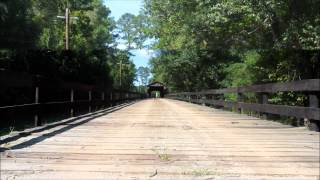 Red Oak Creek Covered Bridge - Horace King