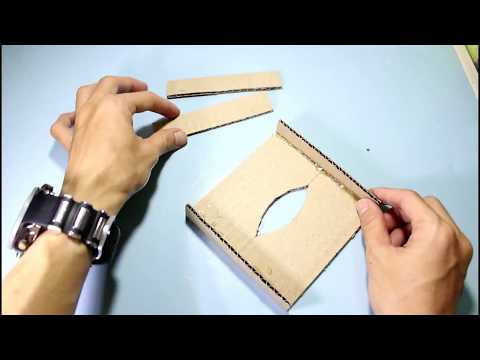 How to Make Crafts From Used Goods - Tissue Box