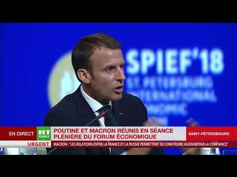 La Russie dans l'UE ? Macron répond