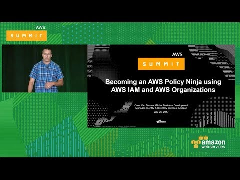 Becoming an AWS Policy Ninja using AWS IAM and AWS Organizations [SEC302]