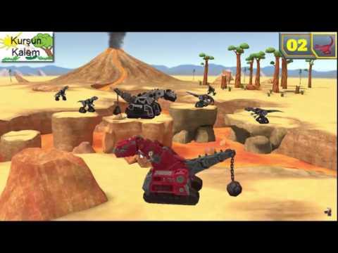 Dinozor Makineler çizgi filmi izle 9.Bölüm -TRT ÇOCUK ✓ LuLu Channel