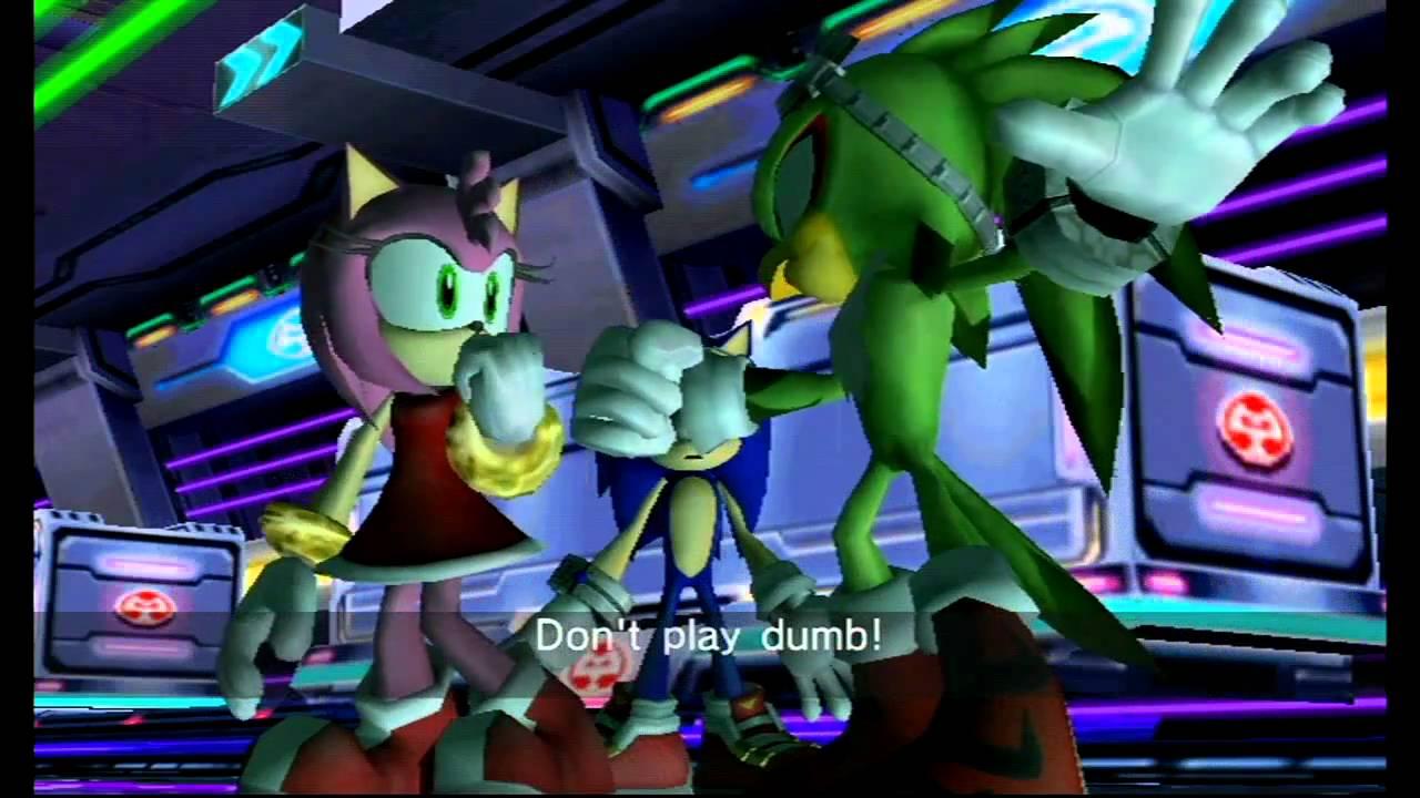 Sonic Riders Zero Gravity (Wii) Babylon Story Cutscene 4 - YouTube