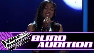 Aqiilah Aku Cuma Punya Hati Blind Auditions The Voice Kids Indonesia Season 3 GTV 2018