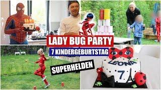 LADY BUG Geburtstagsfeier | Superhelden Party | 7 Geburtstag | Isabeau