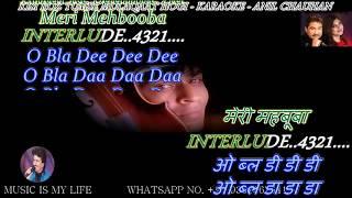 Kisi Roz Tumse Karaoke With Scrolling Lyrics Eng. & हिंदी