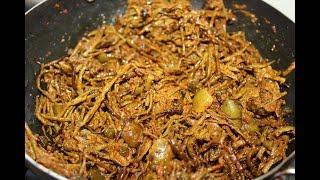 Rajasthani Ker Sangri Ki Sabzi/चटपटी सांगरी की सब्जी