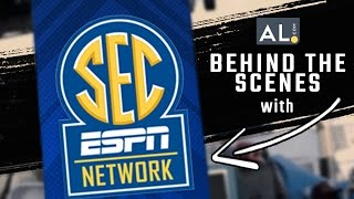 Behind the Scenes with SEC Network at the 2016 SEC Baseball Tournament