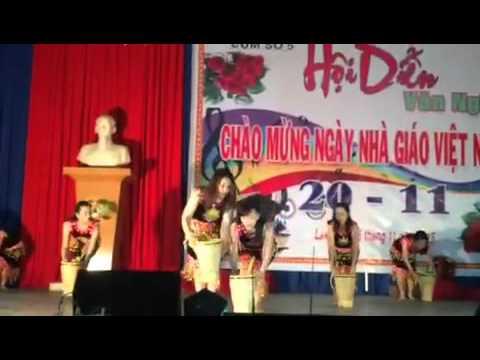 Văn nghệ truong Thpt Viet duc Daklak