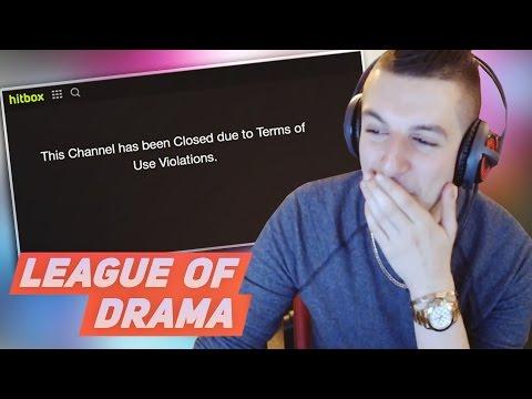 Gross Gore Hitbox channel Banned, Hitbox Admin Hacked - Gross Gore Vape Nation Story #LeagueOfDrama