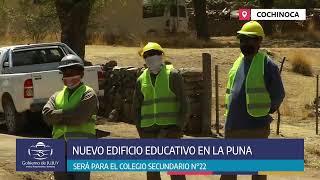 Inicio de Obra Colegio Secundario N° 22 - Cochinoca