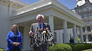 Bernie Sanders Releases Statement After Obama Meeting