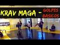 Golpes Básicos  de Krav Maga - (Socos, chutes, quedas etc )