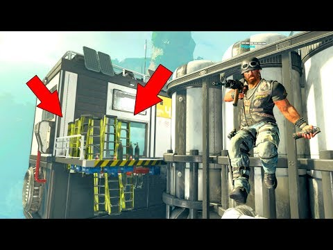 THEY WERE HIDING UNDER THE WALKWAY SO I COULDNT GET THEM!!!!! *PROP HUNT ON BLACK OPS 4*