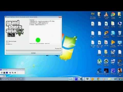 تحميل لعبة gta v للكمبيوتر بحجم صغير