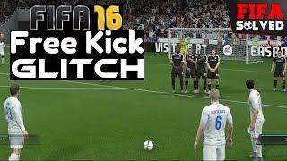 FIFA 16 Free Kick Glitch Tutorial - Score Everytime (BEST Tips)