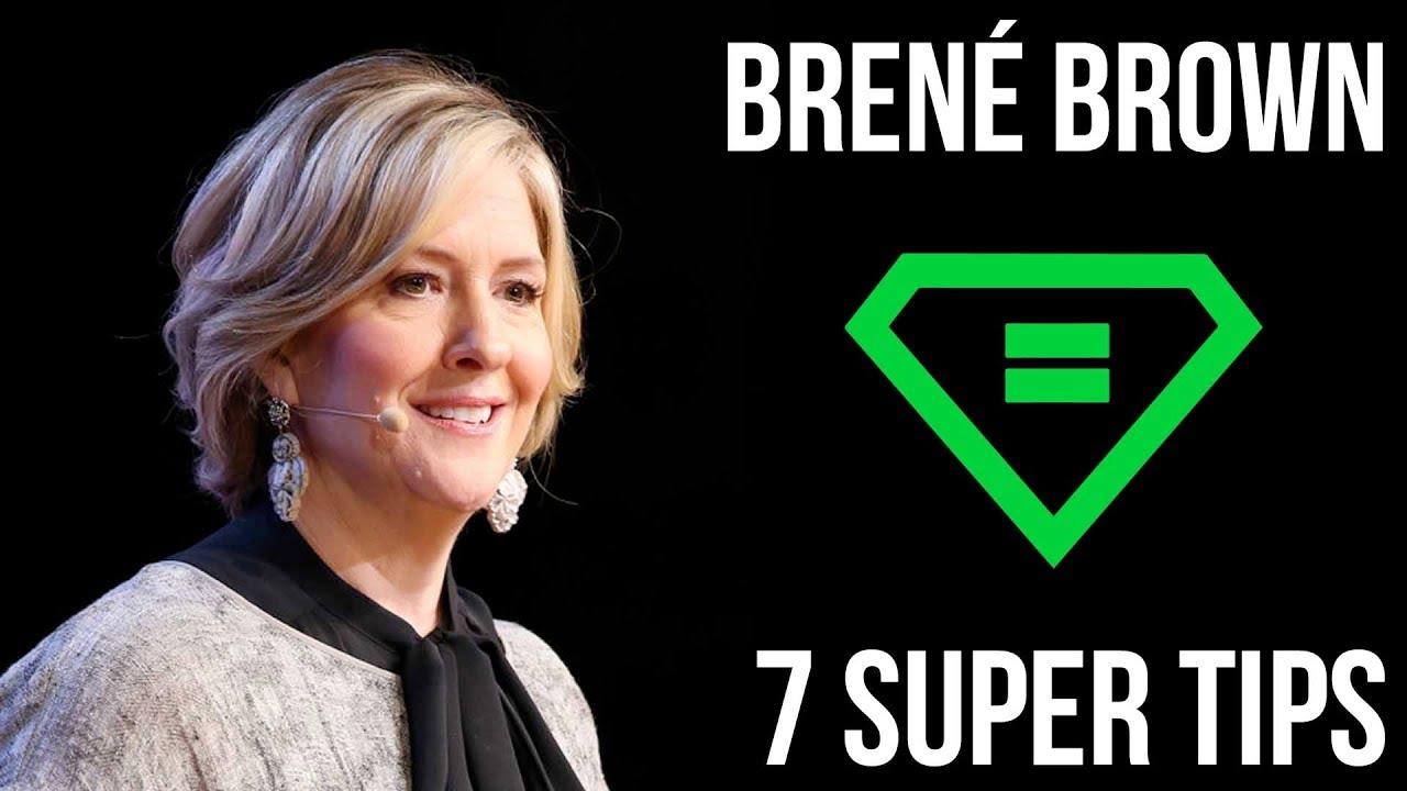 Download Brené Brown | 7 Super Tips