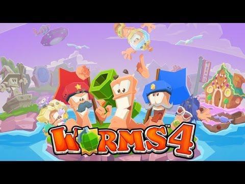 Worms™ 4 By Team17  - Gameplay + Review en Español (iOS) 1080HD