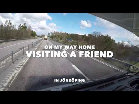 VLOG on the road HOME, visiting a Friend, Sweden at Nigh, Travel Nurse work ended, free for 3 weeks
