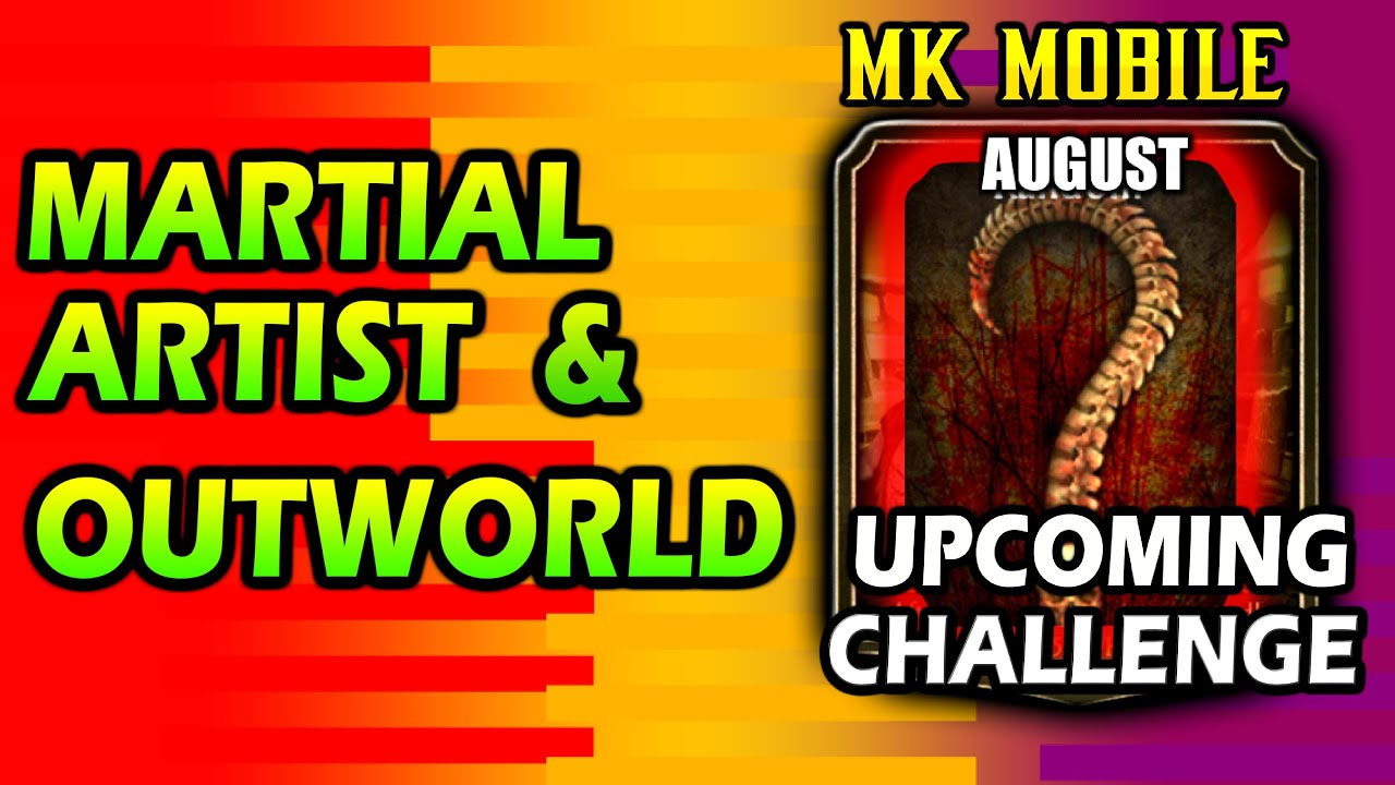 MK Mobile. Upcoming Challenge Characters in August. Can You Guess? MK Mobile 2.7 Glitch