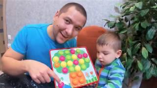 Играем в пазлы для детей. Обзор игры с Марком