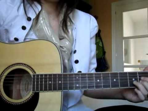 What\'s my name - Rihanna (cover) + Guitar Chords - YouTube
