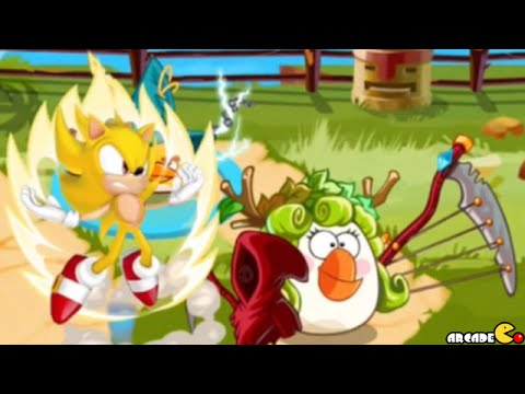 Angry Birds Epic - Sonic Dash Event New Character Sonic Unlocked New Power!