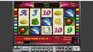 Как выиграть в казино Вулкан. Как обмануть слот Lucky Lady's Charm