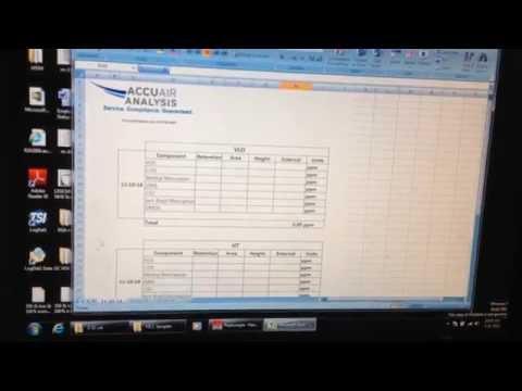 14 GC Data Sheet Setup