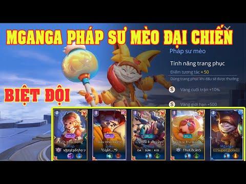 UTS Channels   Mganga Pháp Sư Mèo Cùng Biệt Đội Thú Nhồi Bông Gặp Ngay Team 5 Xạ Thủ   Cực Đẹp