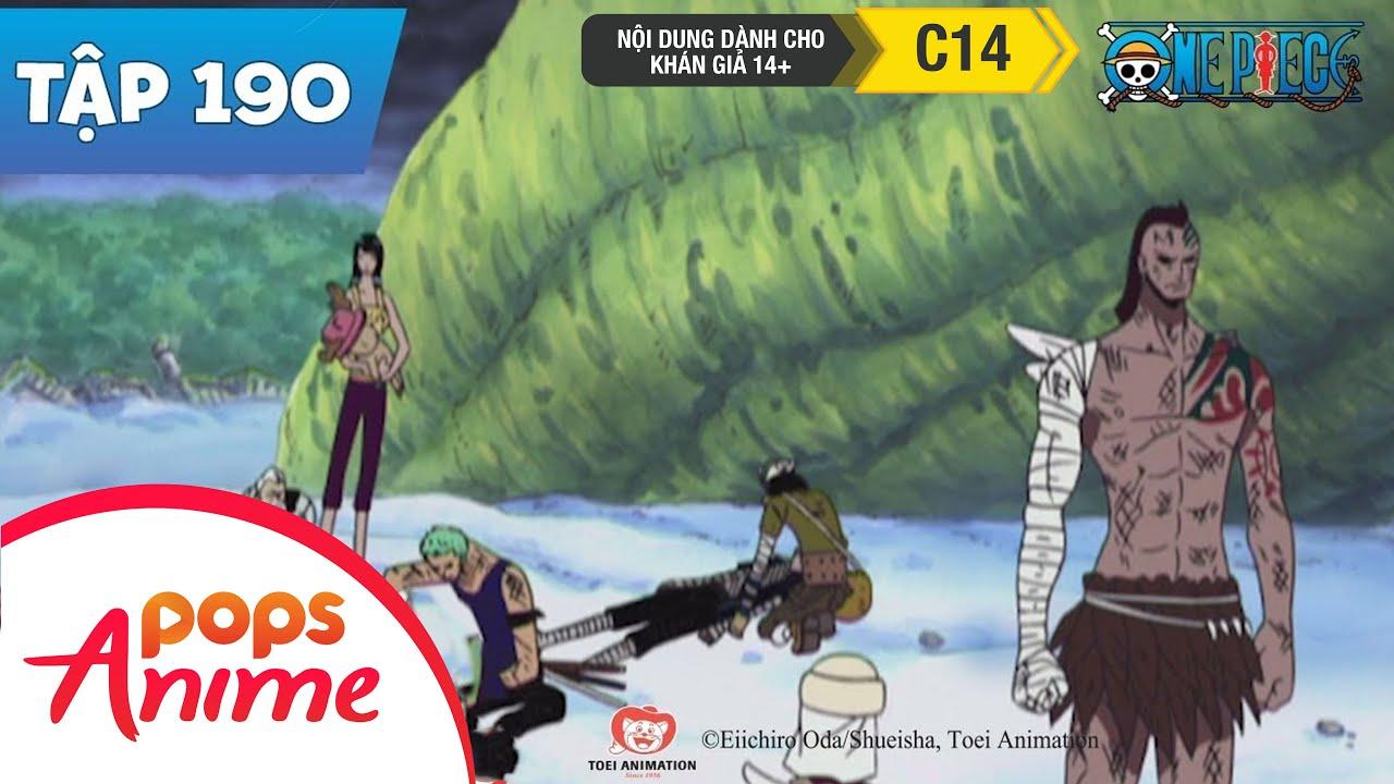 One Piece Tập 190 - Sự Lụi Tàn Của Đảo Trên Trời-Nỗi Khiếp Sợ Raigou Giáng Xuống - Phim Hoạt Hình