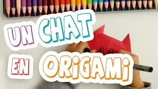 Tutoriel / Comment faire un chat en origami facilement ?