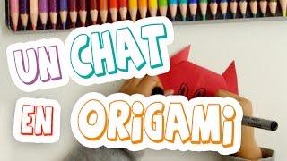 Tutoriel / Comment faire un chat en origami facilement ?