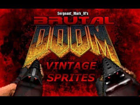 Vintage sprites for Brutal Doom v21