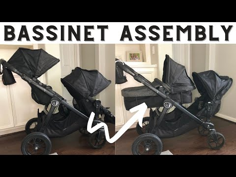 CITY SELECT BASSINET ASSEMBLY| BABY JOGGER STROLLER / CITY SELECT DOUBLE STROLLER / QUICK TIP