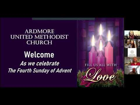 December 20th Online Worship Ardmore UMC PA