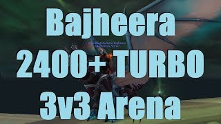 Bajheera - TURBO CLEAVE to 2400: Rank 1 Warrior PvP - WoW Legion 7.2.5 PvP