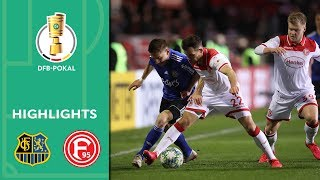 Enjoy the highlights of 1. fc saarbrücken vs. fortuna düsseldorf from quarter finals dfb-pokal 2019/20.goals: 1-0 jänicke (31'), 1-1 jörgensen (90...