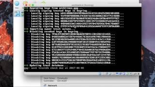 Install Arch Linux from scratch: VirtualBox edition