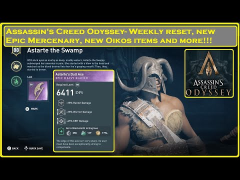 Assassin's Creed® Odyssey- Epic Mercenary and Weekly Reset! thumbnail