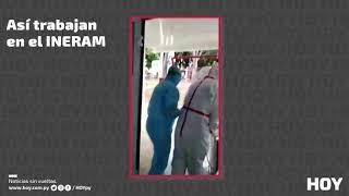 INERAM: la extenuante labor del personal de blanco que atiende casos COVID-19