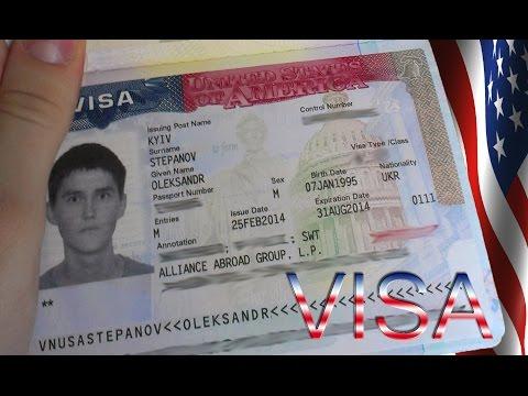 Собеседование в посольстве США. Work and Travel. Виза J1