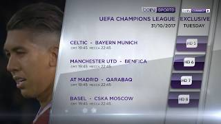 UEFA Champions League  - Tuesday Matches
