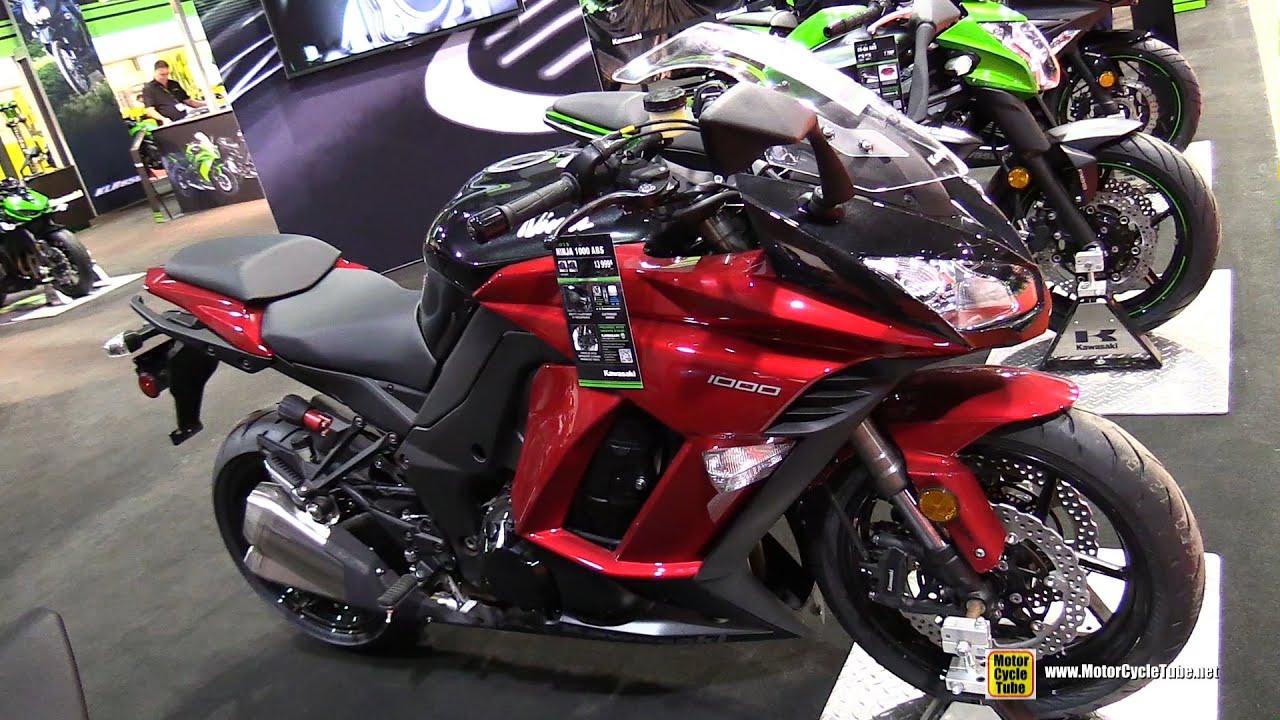 видео мотоцикл Кавасаки Ниндзя #6