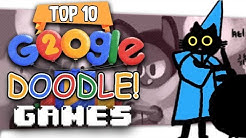 """👾 Top Ten """"Best Google Doodle"""" Games"""