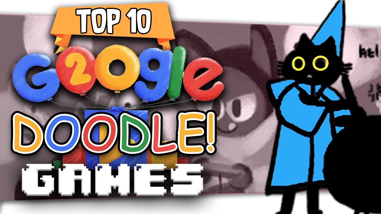 Top Ten Best Google Doodle Games Youtube