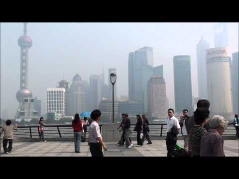 Shanghai China - The Bund District