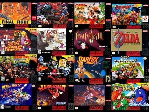 Top 10: Jogos Mais Vendidos do Super Nintendo